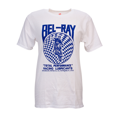 Bel-Ray Retro T-Shirt - White