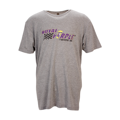 Royal Purple Char Heather Pipe T-Shirt
