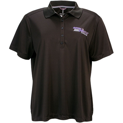 Royal Purple Womens Polo - Black
