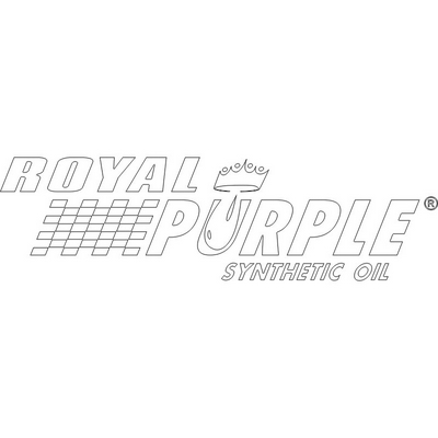 Royal Purple Premask Decals - White - 18