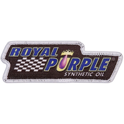 Royal Purple Patch - Black
